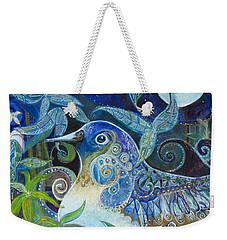 Admiration Weekender Tote Bag by Leela Payne