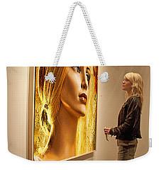 Admiring Beauty Weekender Tote Bag