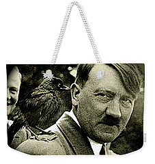 Adolf Hitler And A Feathered Friend C.1941-2008 Weekender Tote Bag