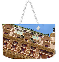 Weekender Tote Bag featuring the photograph Adolphus Hotel - Dallas #1 by Robert ONeil