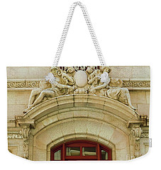 Weekender Tote Bag featuring the photograph Adolphus Hotel - Dallas #4 by Robert ONeil