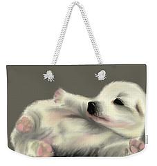 Adorable Pup Weekender Tote Bag