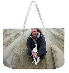 Weekender Tote Bag featuring the photograph Adoring Look by Susan Garren