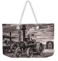 Advance Steam Traction Engine Weekender Tote Bag