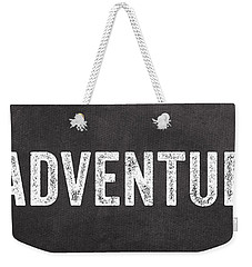 Adventure  Weekender Tote Bag by Linda Woods