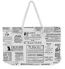 Advert - For The Ladies Weekender Tote Bag