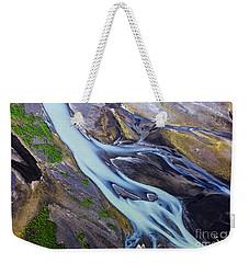 Aerial Photo Of Iceland  Weekender Tote Bag