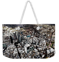 Aerial View Of London 3 Weekender Tote Bag by Mark Rogan