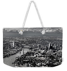 Aerial View Of London 4 Weekender Tote Bag by Mark Rogan