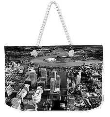 Aerial View Of London 5 Weekender Tote Bag by Mark Rogan