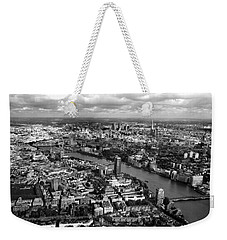Aerial View Of London Weekender Tote Bag by Mark Rogan