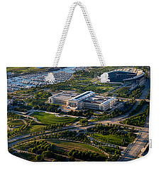 Aerial View Of The Field Museum Weekender Tote Bag by Panoramic Images