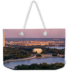 Aerial, Washington Dc, District Of Weekender Tote Bag