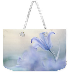Aethereal Blue Weekender Tote Bag by Jenny Rainbow