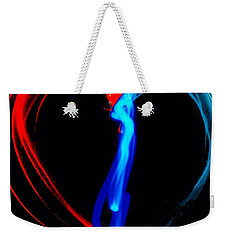 Affection In Light Weekender Tote Bag by Lisa Brandel