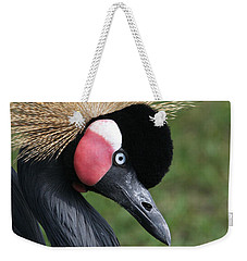 African Crowned Crane #2 Weekender Tote Bag