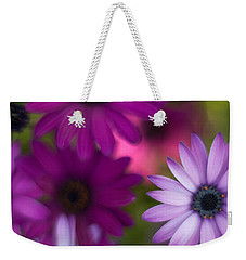 African Daisy Collage Weekender Tote Bag by Mike Reid