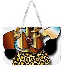 Weekender Tote Bag featuring the digital art African Dancer 2 by Marvin Blaine