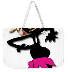 Weekender Tote Bag featuring the digital art African Dancer 4 by Marvin Blaine