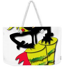 Weekender Tote Bag featuring the digital art African Drummer by Marvin Blaine
