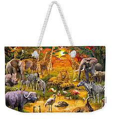 African Harmony Weekender Tote Bag