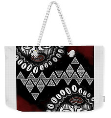 African Queen-of-hearts Card Weekender Tote Bag