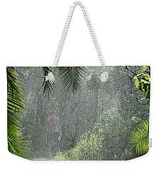 African Rain Weekender Tote Bag