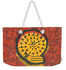 African Shell Pattern Weekender Tote Bag