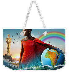 The Lupita Tsunami Weekender Tote Bag