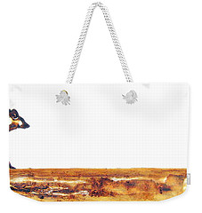 Endangered African Wild Dog - Original Artwork Weekender Tote Bag