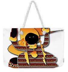Weekender Tote Bag featuring the digital art African Worker by Marvin Blaine