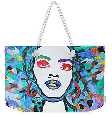 Afro Lauryn Hill  Weekender Tote Bag