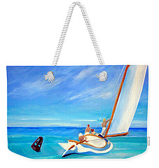 After Hopper- Sailing Weekender Tote Bag