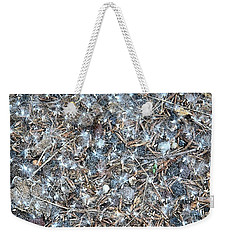 Weekender Tote Bag featuring the photograph After Jackson Pollock by Steven Richman