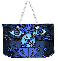 After Midnight Weekender Tote Bag