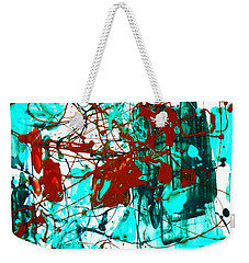 After Pollock Weekender Tote Bag by Genevieve Esson