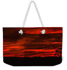 After Sunset Sky Weekender Tote Bag