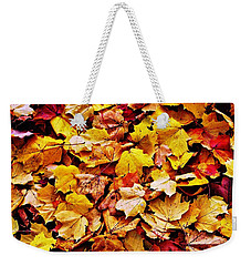 After The Fall Weekender Tote Bag by Daniel Thompson