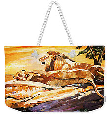 After The Hunt Weekender Tote Bag