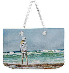 Weekender Tote Bag featuring the painting After The Storm by Arthur Fix