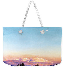 Weekender Tote Bag featuring the painting After The Storm by Craig T Burgwardt