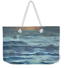 Weekender Tote Bag featuring the painting After The Storm by Lori Brackett