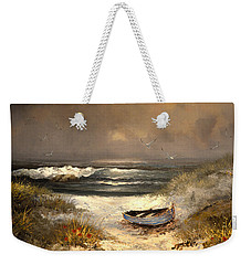 After The Storm Passed Weekender Tote Bag by Sandi OReilly