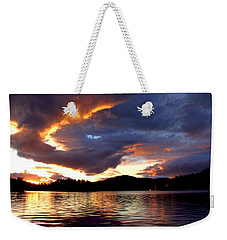 Weekender Tote Bag featuring the photograph After The Storm by Peggy Collins