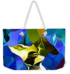 Afternoon Doodle 020215 Weekender Tote Bag by David Lane