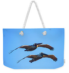 Afternoon Flight. Weekender Tote Bag