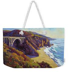 Afternoon Glow 3 Big Sur Weekender Tote Bag