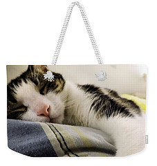 Weekender Tote Bag featuring the photograph Afternoon Nap by Robyn King