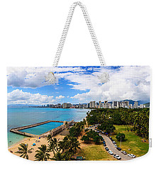 Afternoon On Waikiki Weekender Tote Bag
