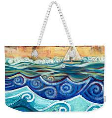 Afternoon Sail Weekender Tote Bag